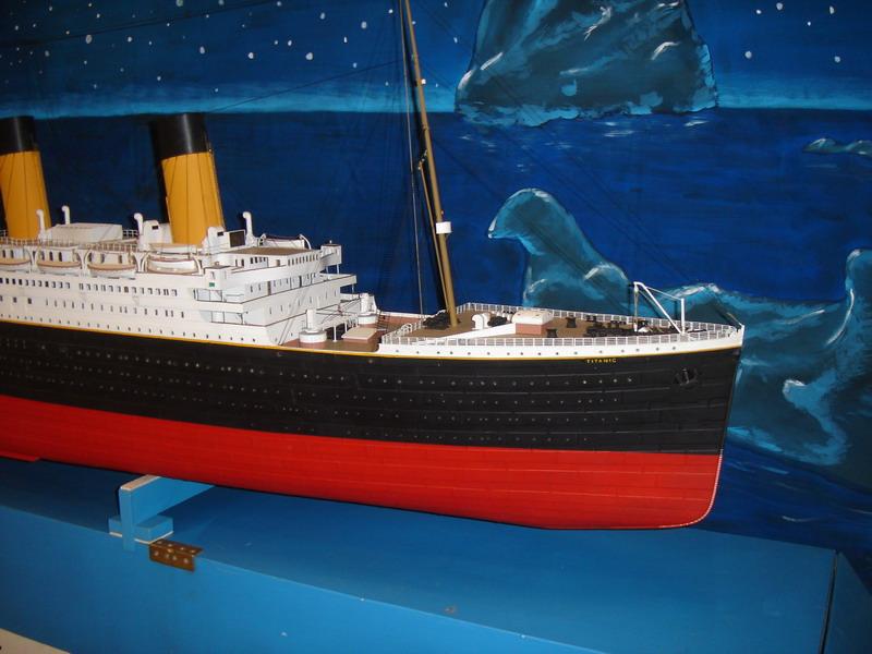 Titanic royal mail steamer for Piani di costruzione del modello